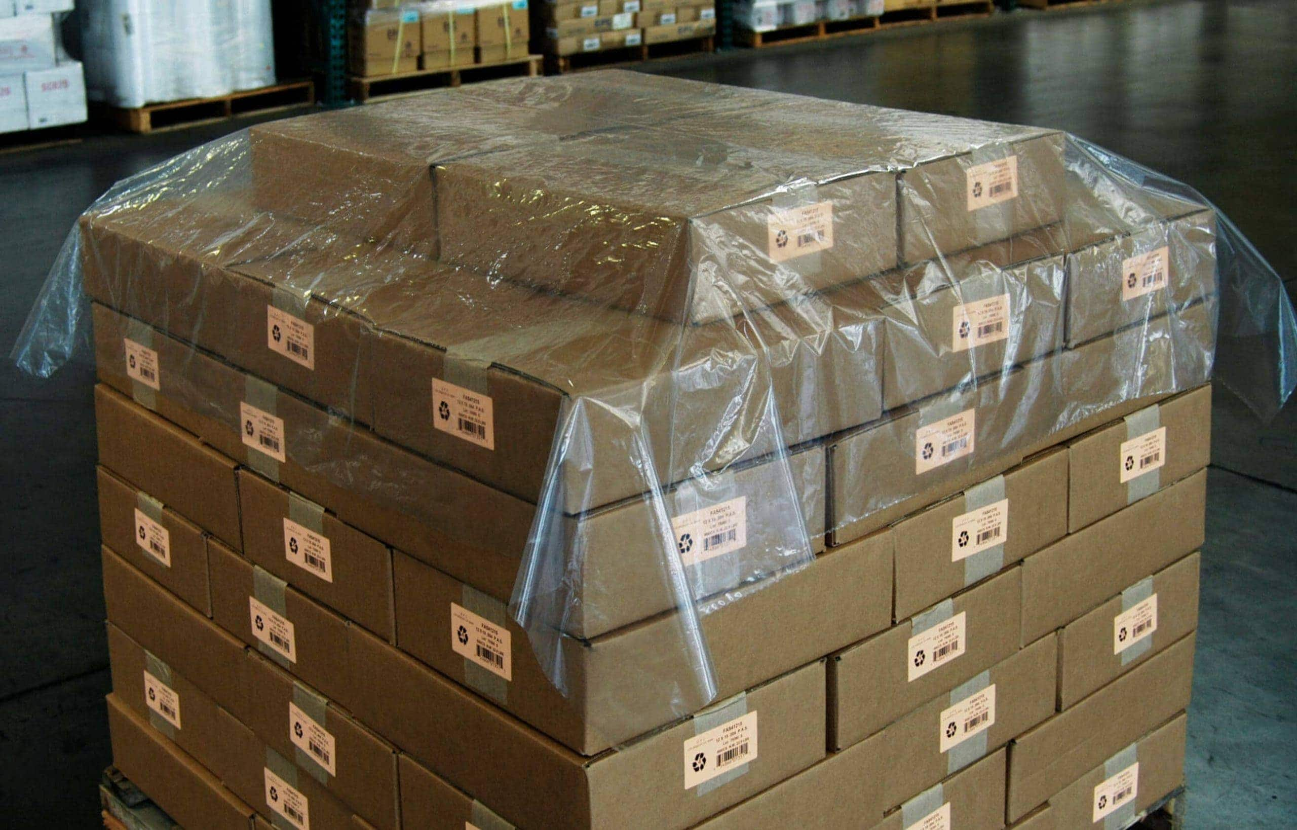 Poly Top Sheet Pallet Covers